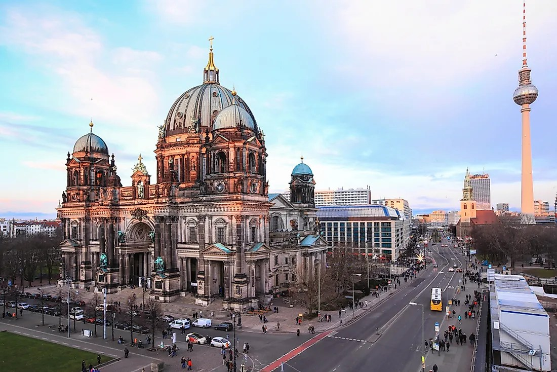 How Did Berlin Germany Get Its Name Worldatlas Com