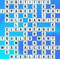 Grid T-8-10 Answers - World's Biggest Crossword
