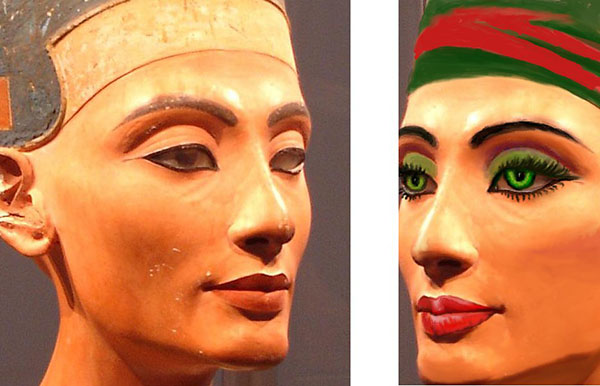 Ancient Egypt \u2013 Beauty, Makeup and Hygiene World History - history of makeup