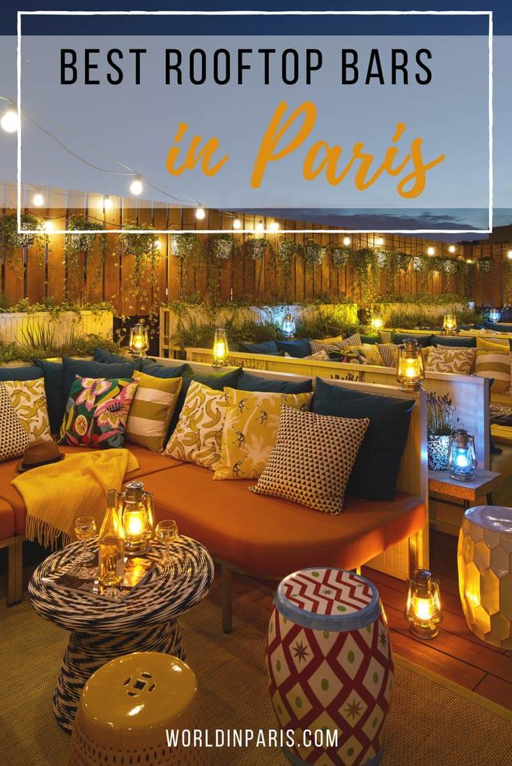 Arte Dekor Blanca Bar White Best Rooftop Bars In Paris 2019 Cocktails With The Best Views Of