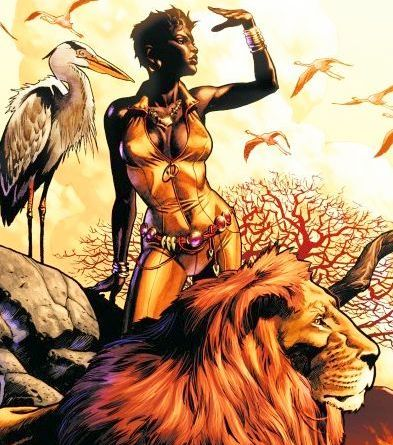 Vixen, Queen of the Animal Kingdom!
