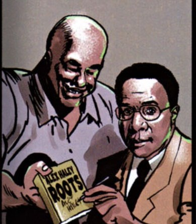 Isaiah and Alex Haley