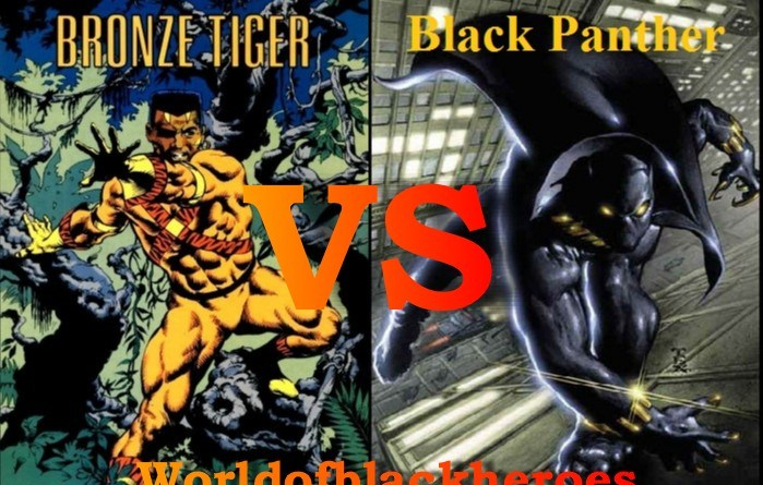 Black Panther vs Bronze Tiger