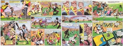 Origin of Sunspot from Marvel Graphic Novel #4: The New Mutants, 1982
