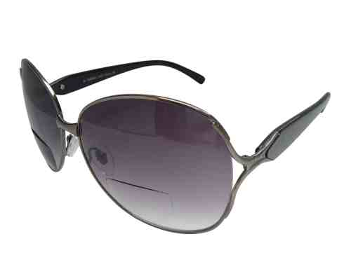 Gabriella Bifocal Sunglasses in Black