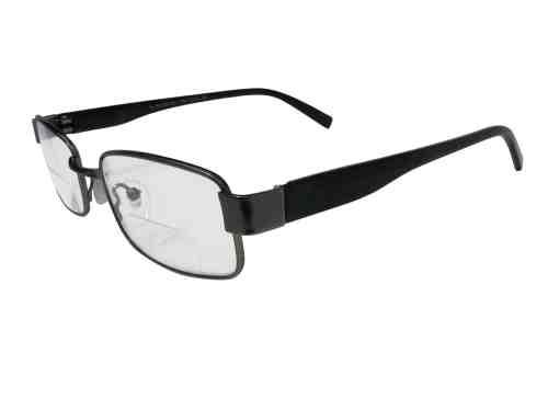 Prague Bifocal Reading Glasses in Black