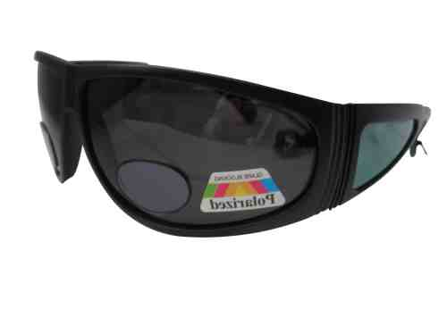Darth Polarised Bifocal Fishing Sunglasses in Black