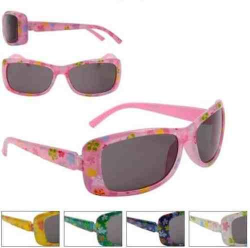 Girls Fashion Flower Power Sunglasses