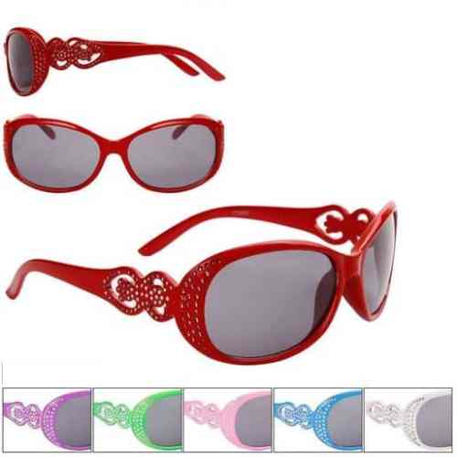 Girls Fashion Rhinestone Sunglasses