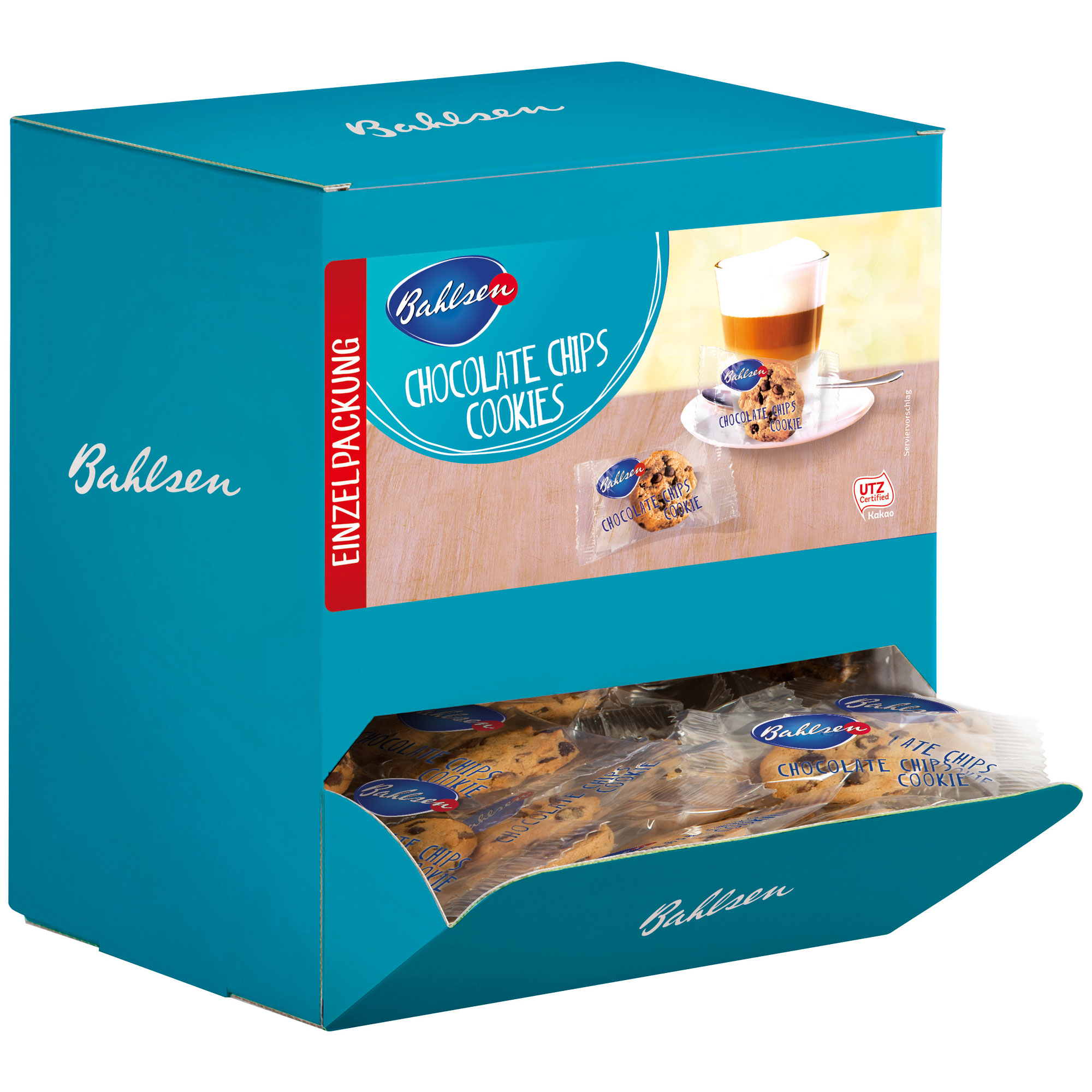Bahlsen Mini Kuchen Bahlsen Chocolate Chips Cookies 200er
