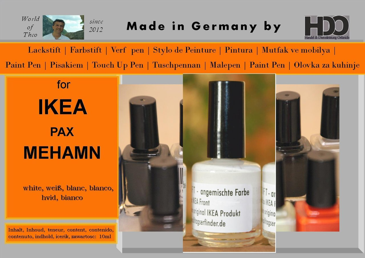 Pax Mehamn Touch Up Pen Touch Up Paint For Ikea Mehamn White