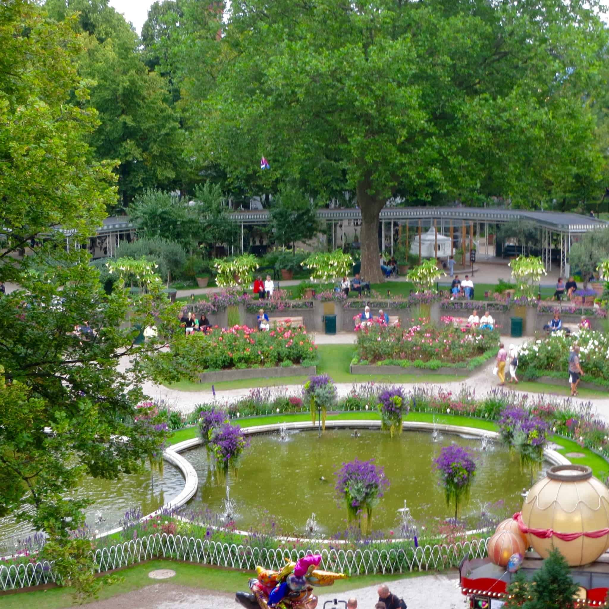 Tivoli Amusement Park Aarhus What To Do At Tivoli Gardens Unlimited Rides World On A