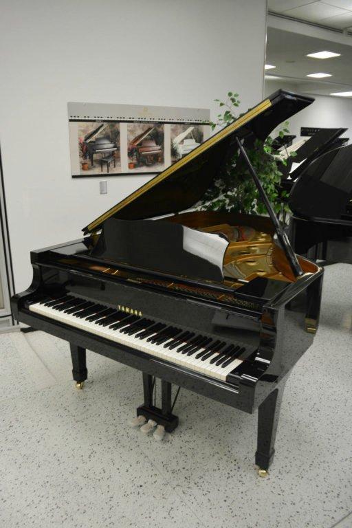 Yamaha C5 Concert Grand Piano - Ebony Polish (used) - Minneapolis