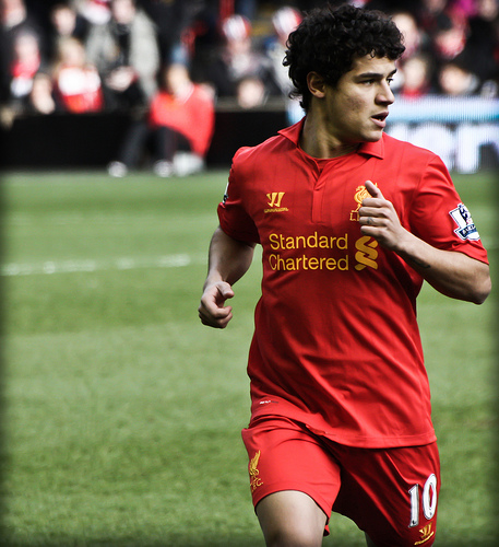 Philippe Coutinho, Liverpool Futbol Pinterest Philippe coutinho - soccer player resume
