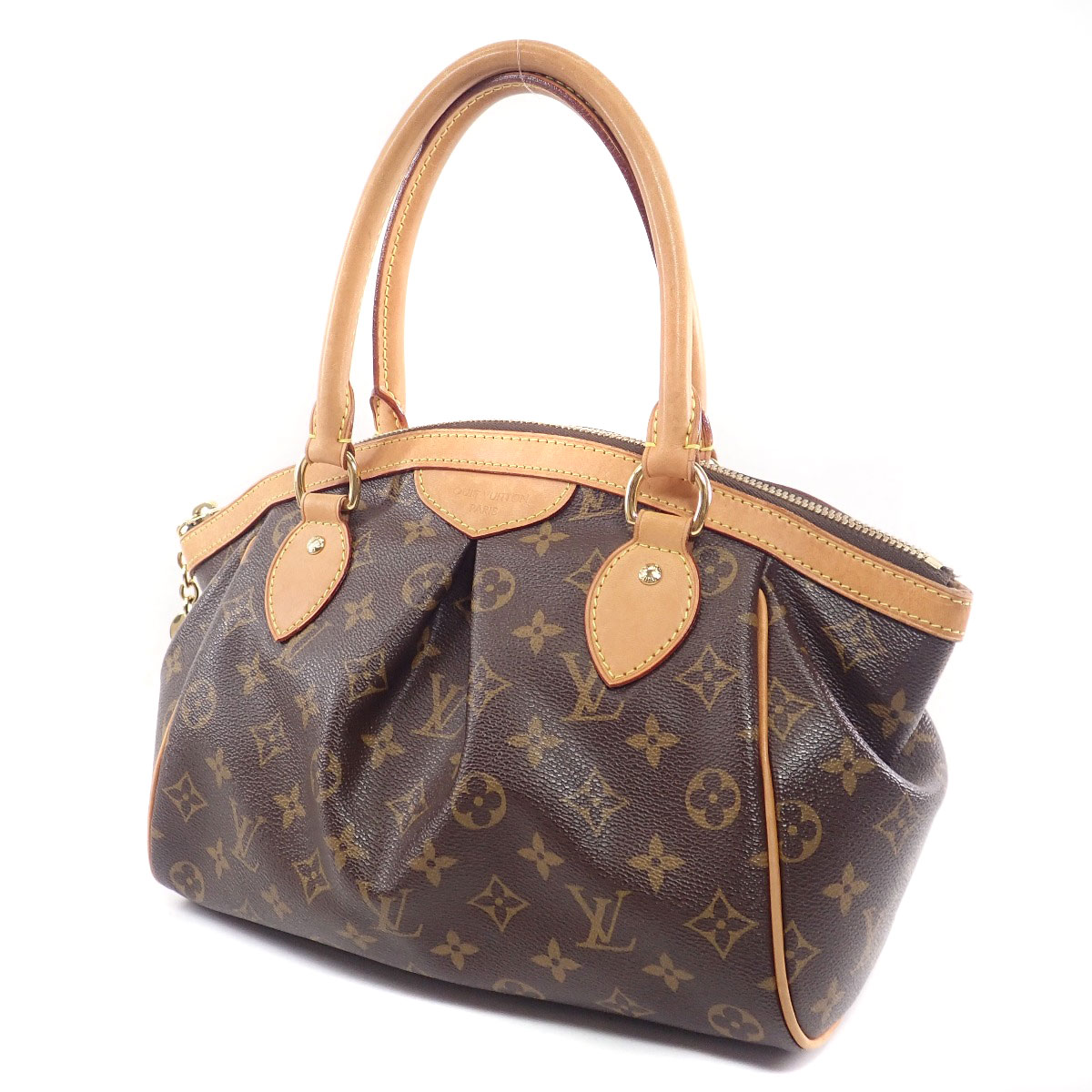 Louis Vuitton Tivoli Pm Brand New Louis Vuitton Louis Vuitton M40143 Monogram Canvas Women S Handbag ー The Best Place To Buy Brand Bags Watches Jewelry Brand Bargain