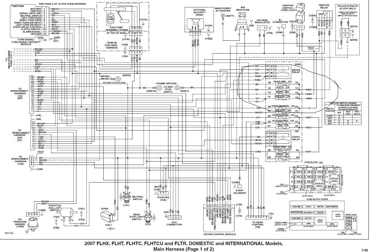 2003 harley radio wiring diagram