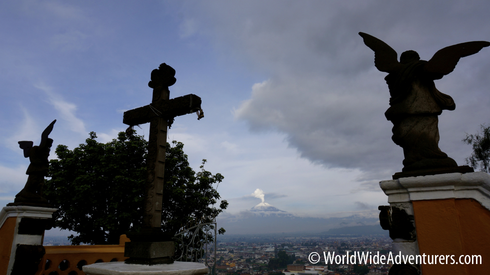 Mexico: Pyramids, Churches, Grasshoppers and Volcanoes