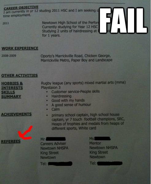 The 25 Funniest Job Resumes Of All Time