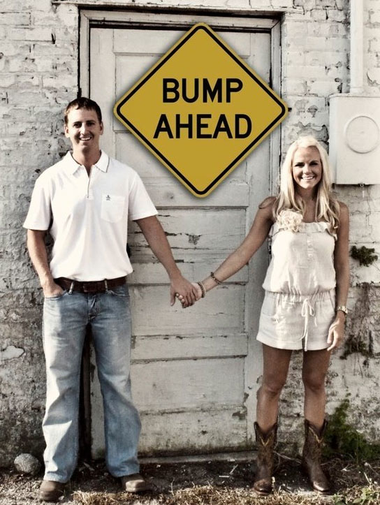 The 25 Funniest Pregnancy Announcements Ever (GALLERY) WWI