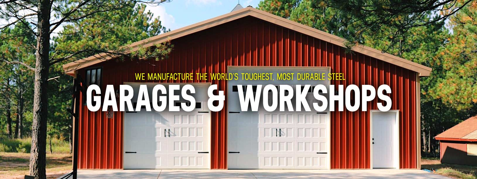 Garage For Sale Long Island Custom Steel Garage Workshop Kits Worldwide Steel Buildings