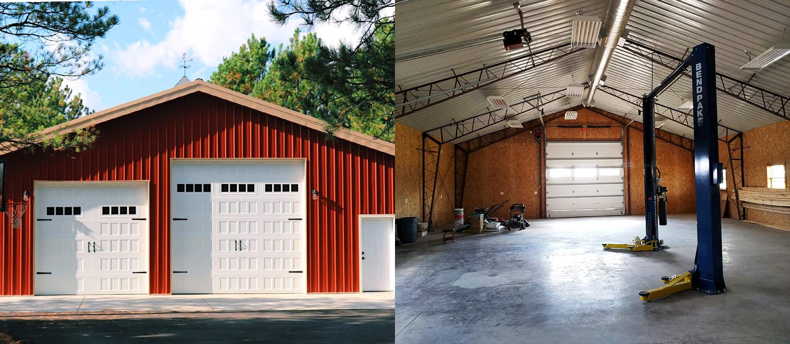 Garage Storage Buildings Worldwide Steel Buildings Metal Steel Buildings Barndominiums