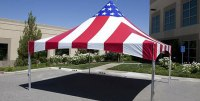 American Flag Frame Tents For Sale | Worldwide Tents