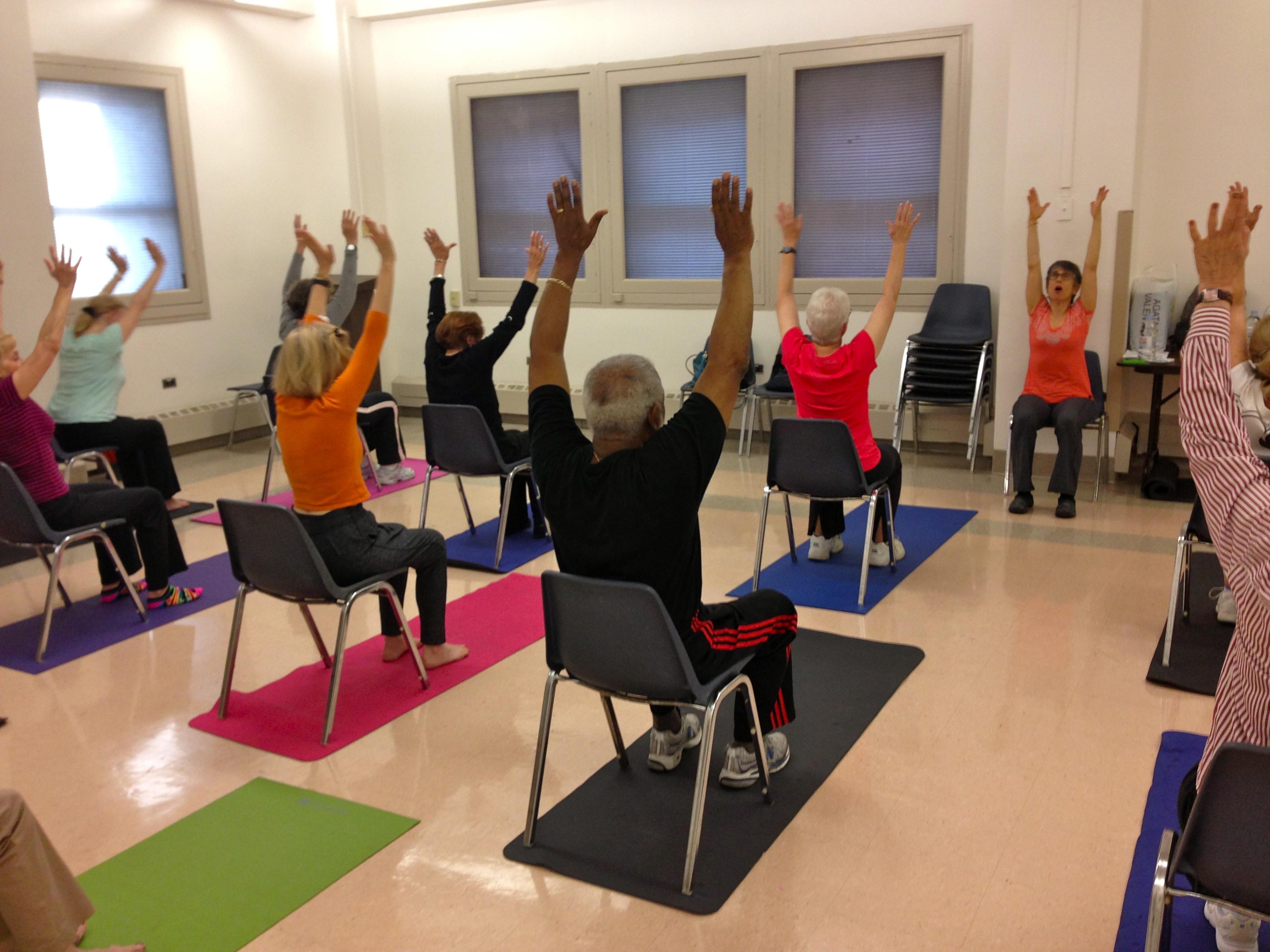 Chair Yoga For Seniors Milwaukee