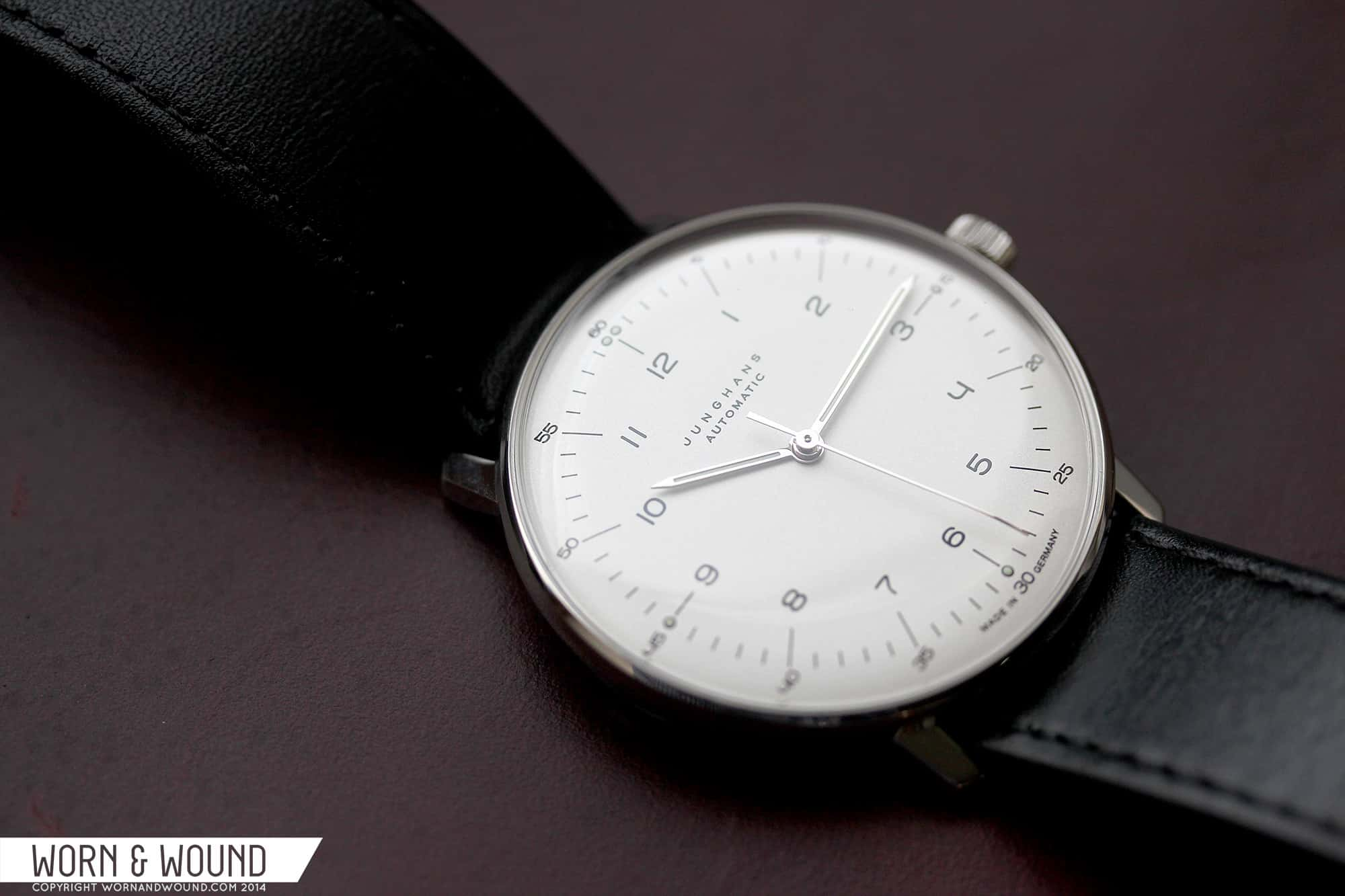 Max Bill Automatic Hands On With Max Bill Watches By Junghans Worn Wound
