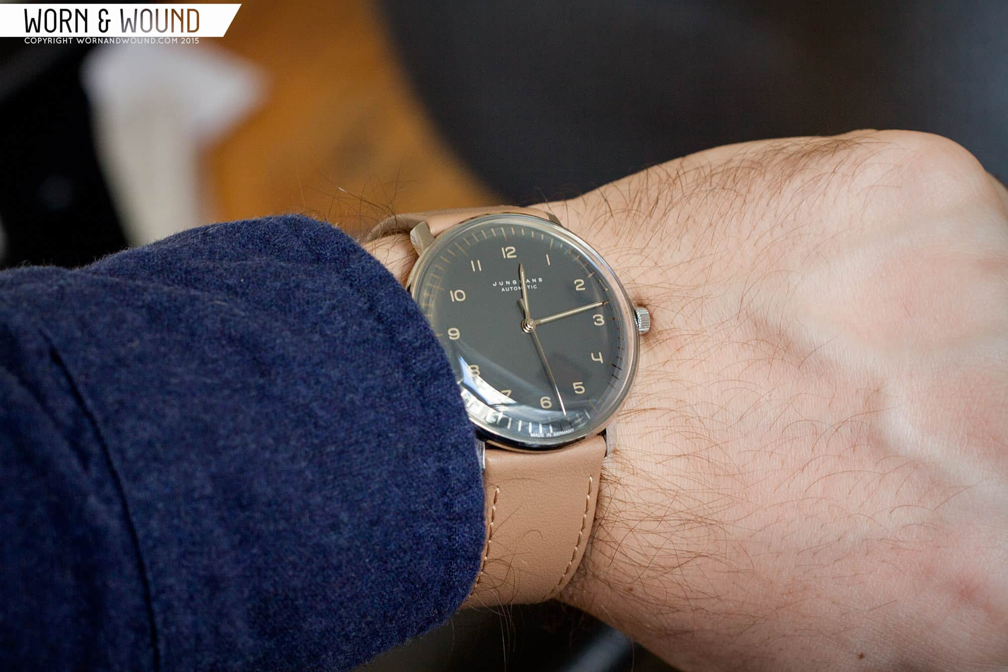 Max Bill Automatic Junghans Max Bill Anthracite Ref 3401 Review Worn Wound