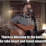 Dustin Kensrue 'Rejoice' Acoustic with Lyrics