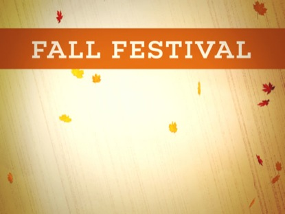 Fall Festival Announcement 4ThoughtMedia Youth Worker