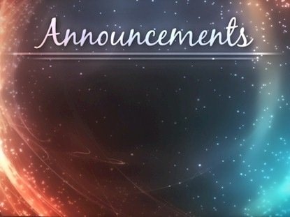 Cosmic Announcements Motion Animated Praise WorshipHouse Media