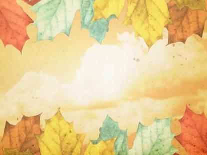 Fall Pumpkin Wallpaper Desktop Classic Thanksgiving Leaves Centerline New Media