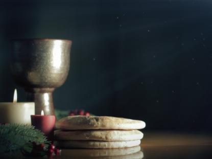 Fall Computer Screen Wallpaper Christmas Communion Candles Motion Worship