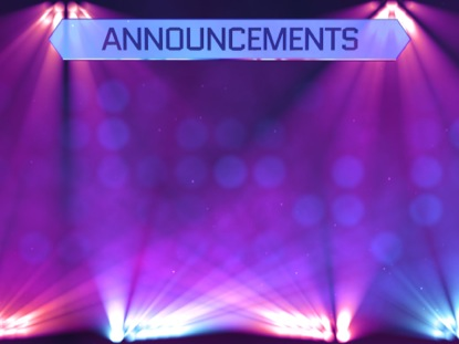 Stage Lights Announcements Motion Worship WorshipHouse Media