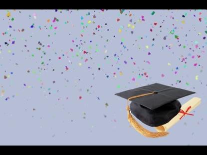 Graduation Motion Confetti And Cap Videos2Worship WorshipHouse Media