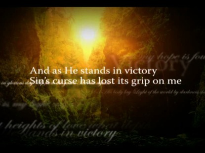 Free Desktop Wallpaper Scripture Fall Inspiring In Christ Alone Video Worship Song Track With Lyrics