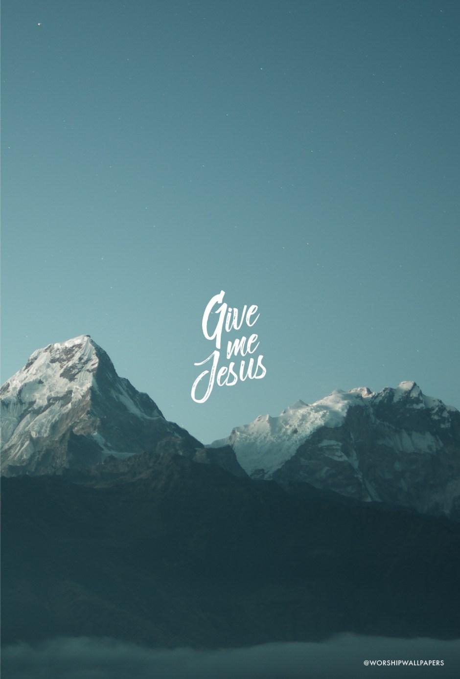 Give Me Jesus // Bethel Music | WORSHIP WALLPAPERS