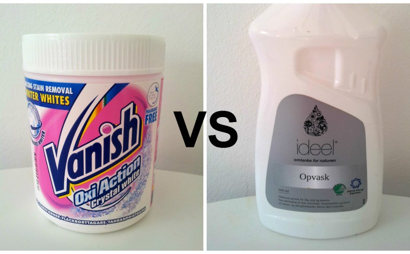 Vanish vs. Dish Soap – the Showdown
