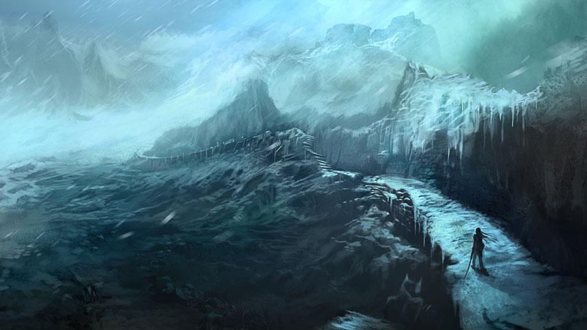 Frozen Animated Wallpaper Art War Of The Burning Sky Adventure Path