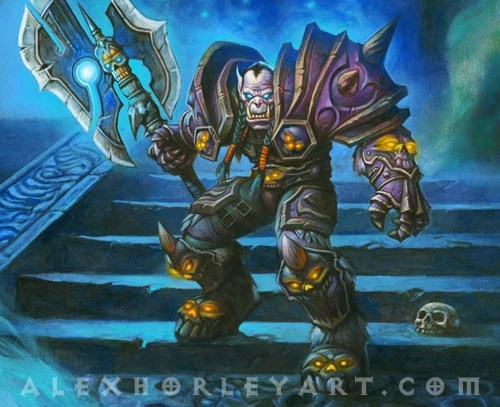Blood Falling Wallpaper Deathbringer Saurfang Wowpedia Your Wiki Guide To The