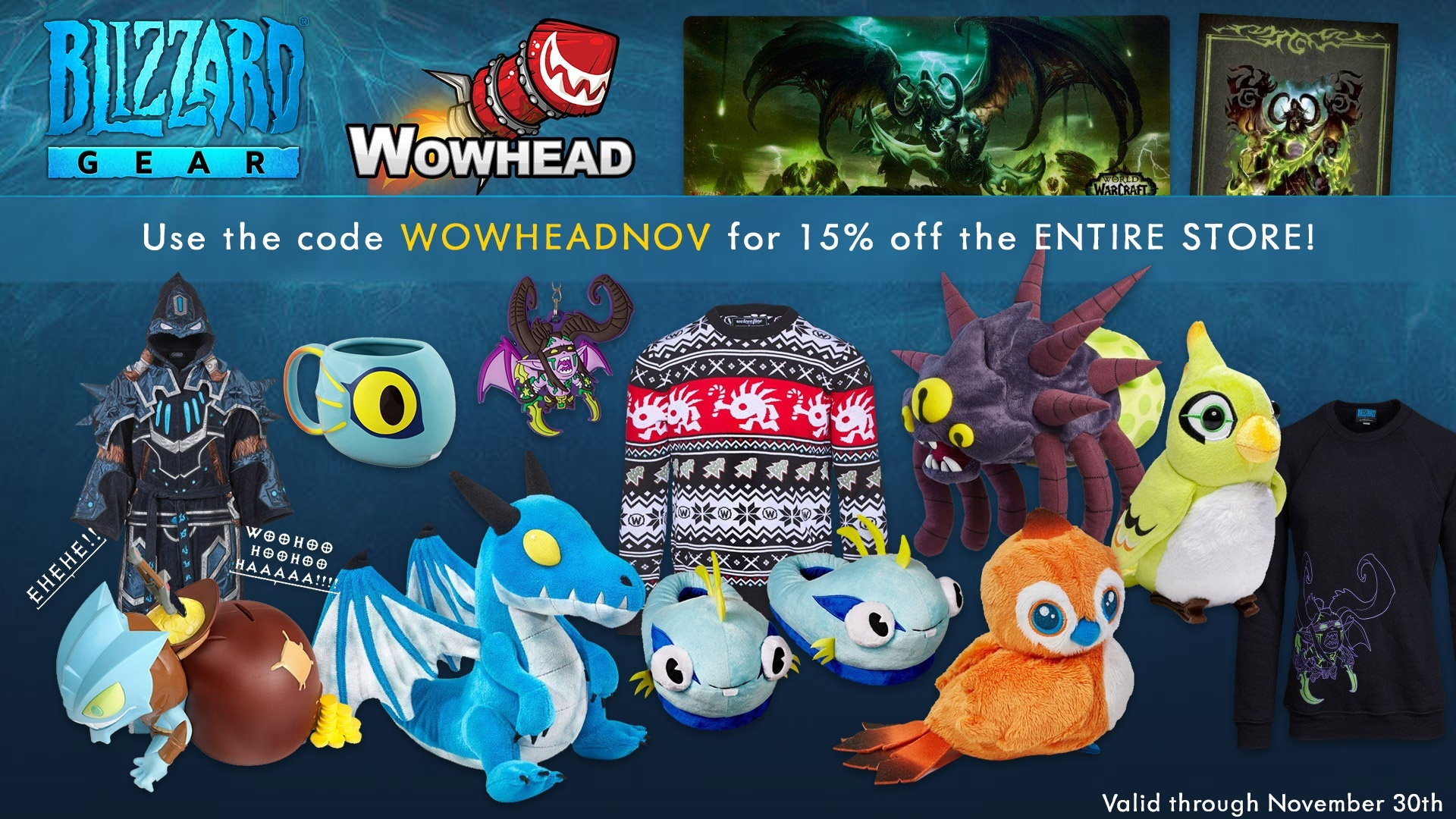 Black Friday Shop Blizzard Gear Shop Black Friday Discounts Now Live Wowhead News