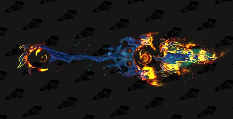 wow legion frost mage hidden artifact weapon appearance