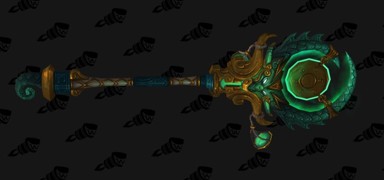 wow legion mistweaver monk hidden artifact weapon appearance