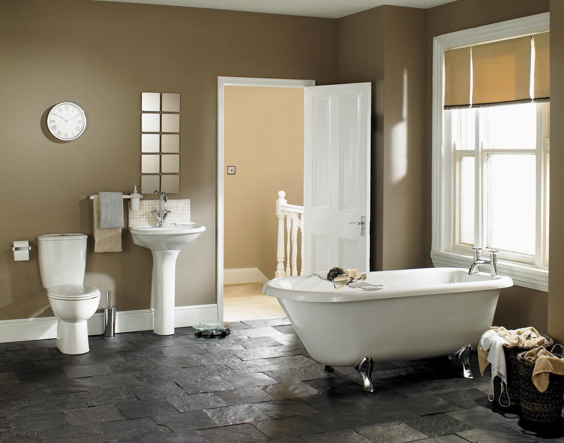 10 Beautiful Bathroom Paint Colors For Your Next Renovation Wow 1 Day Painting