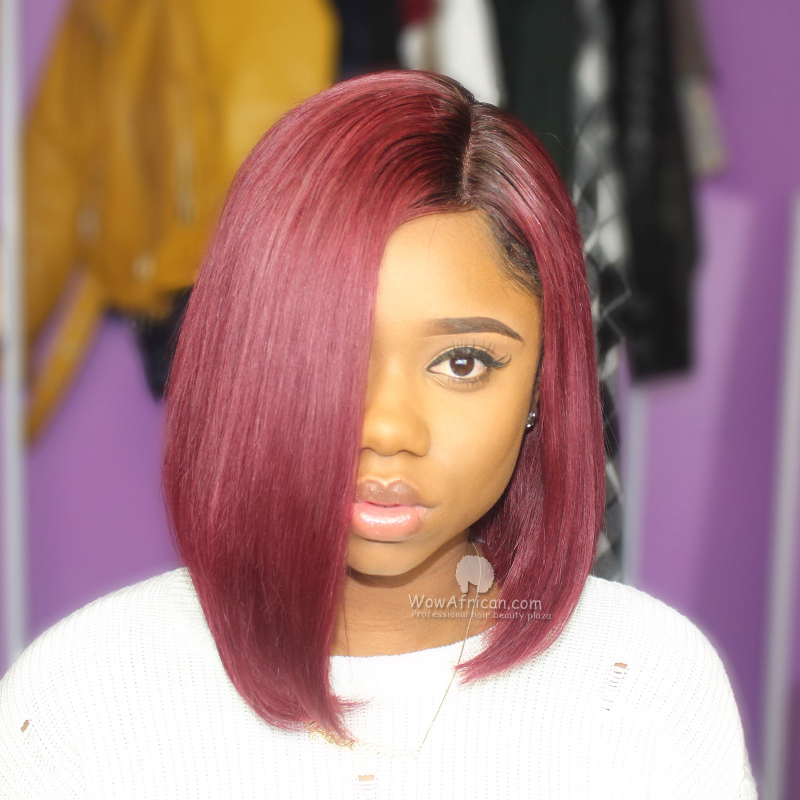 Bob Wig Frontal Customer Brazilian Virgin Hair Weave Photos Customer Clip