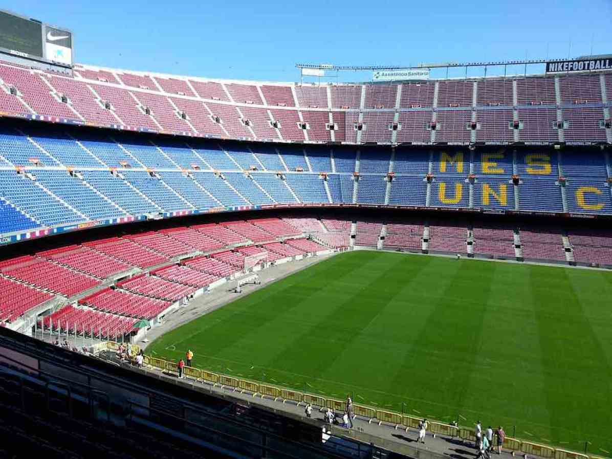 Camp Nou Stadium, Barcelona - by puppet:Pixabay