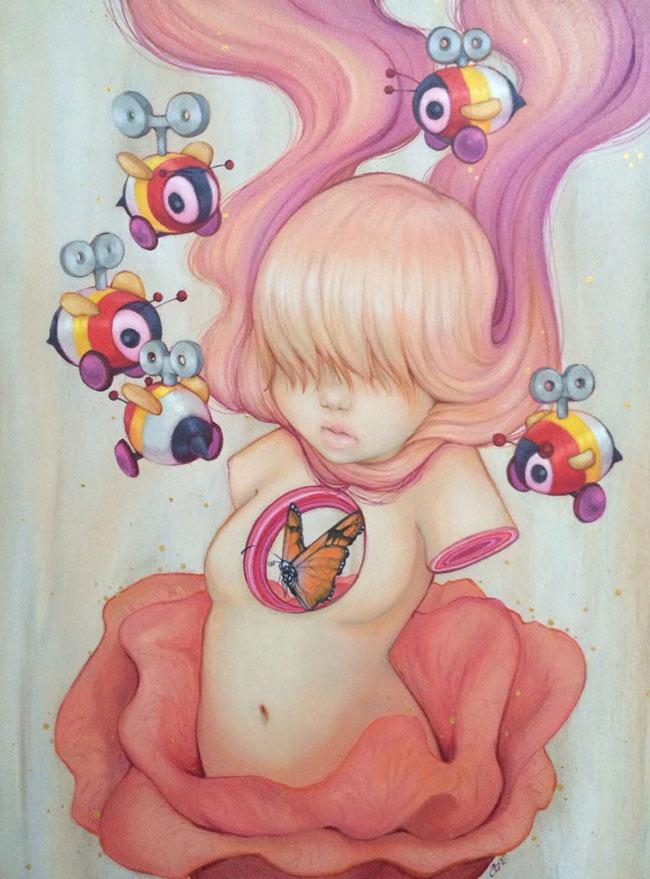 Watermelon Wallpaper Cute One Camilla D Errico Artist Interview Wow X Wow
