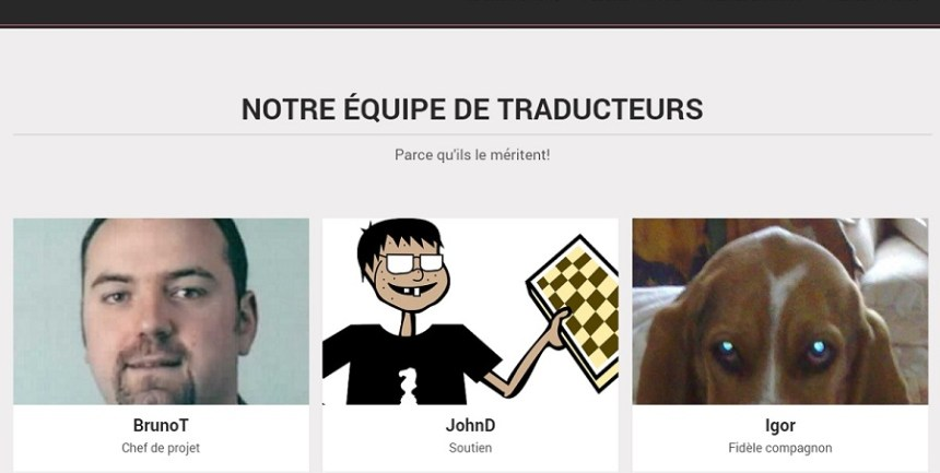 WP Traduction, plateforme de mise à disposition de traductions en français de thèmes et d'extensions WordPress