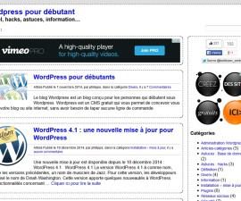Cature d'écran du site www.wordpress.buldozer.fr.